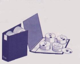 Classeur archivage disques