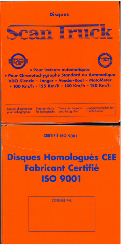 Disques scan truck