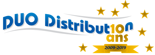 DUO DISTRIBUTION LOGO 10ANS
