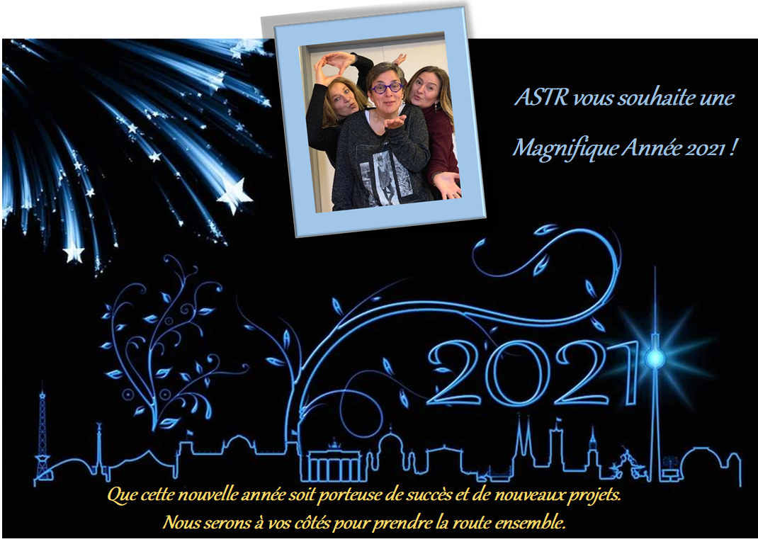 2021 CARTE BONNE ANNEE